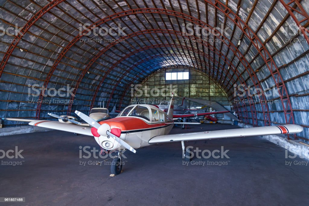 Piper Cherokee stock photo