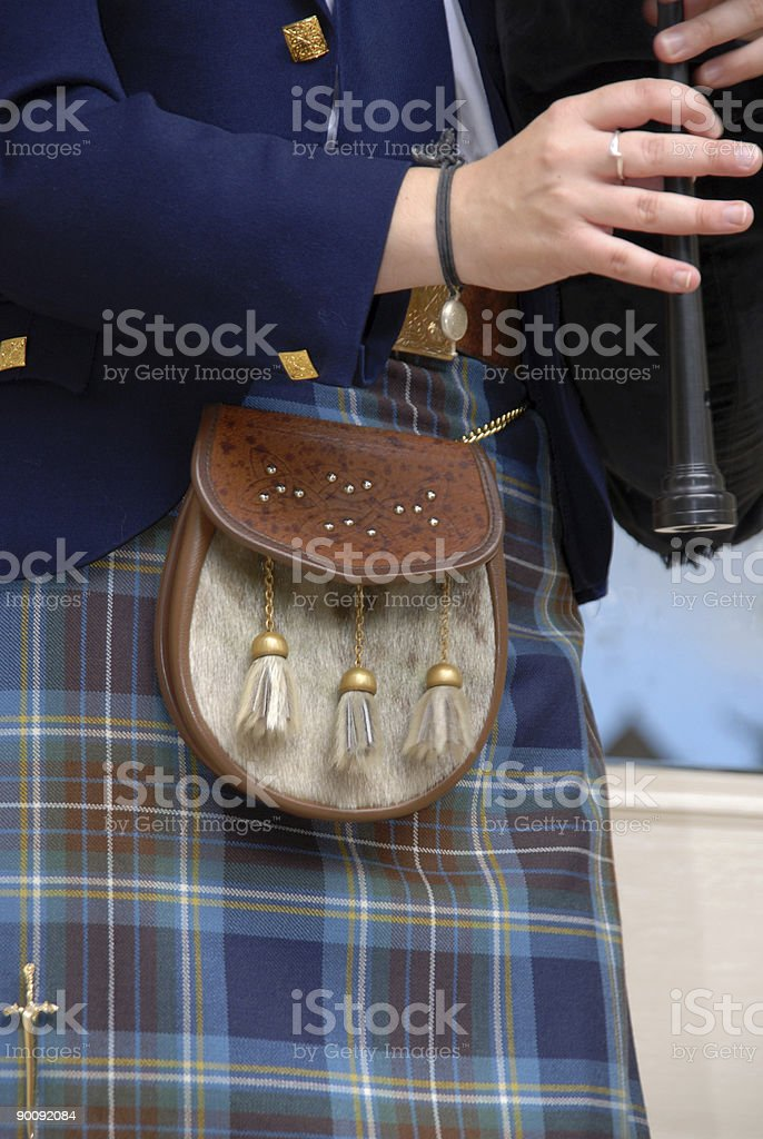 Piper stock photo