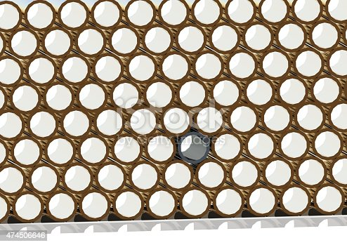 istock Pipes  -a look through the end 474506646