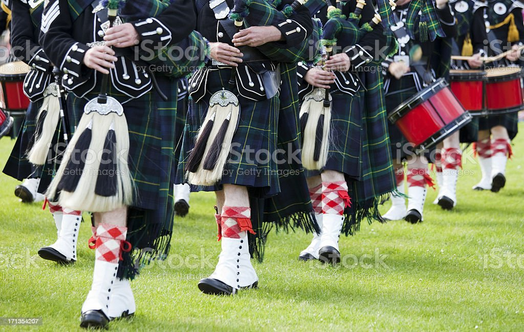 Pipes and Drums stock photo