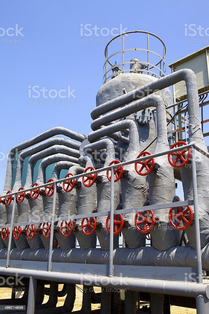 Pipes and Valves royalty-free stock photo