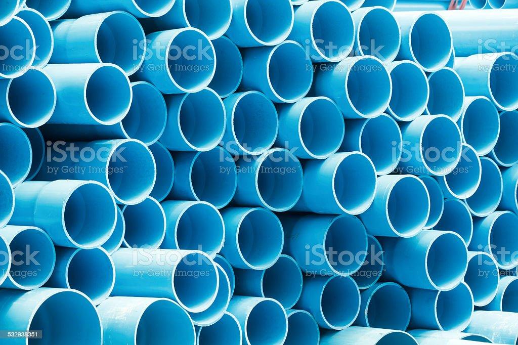 PVC pipes für Wasser zu trinken. – Foto