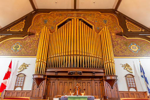 Pipes for Organ