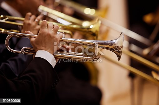 istock Pipes in the hands of musicians 520690909