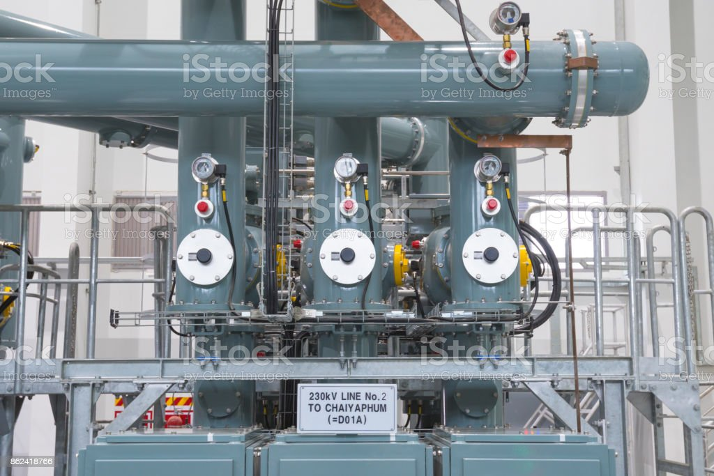 Rohre im Kraftwerk – Foto