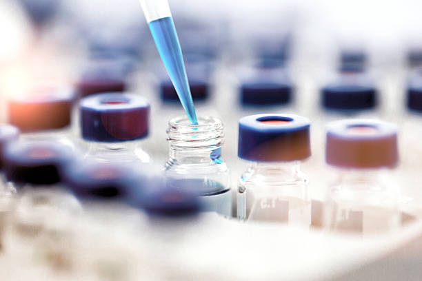 pipette - biotechnology stock pictures, royalty-free photos & images