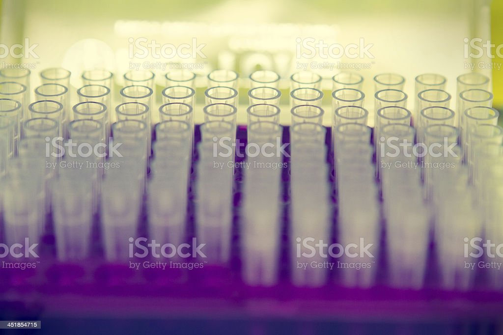 Pipette Tubes stock photo