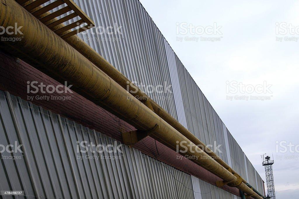 pipework stock photo