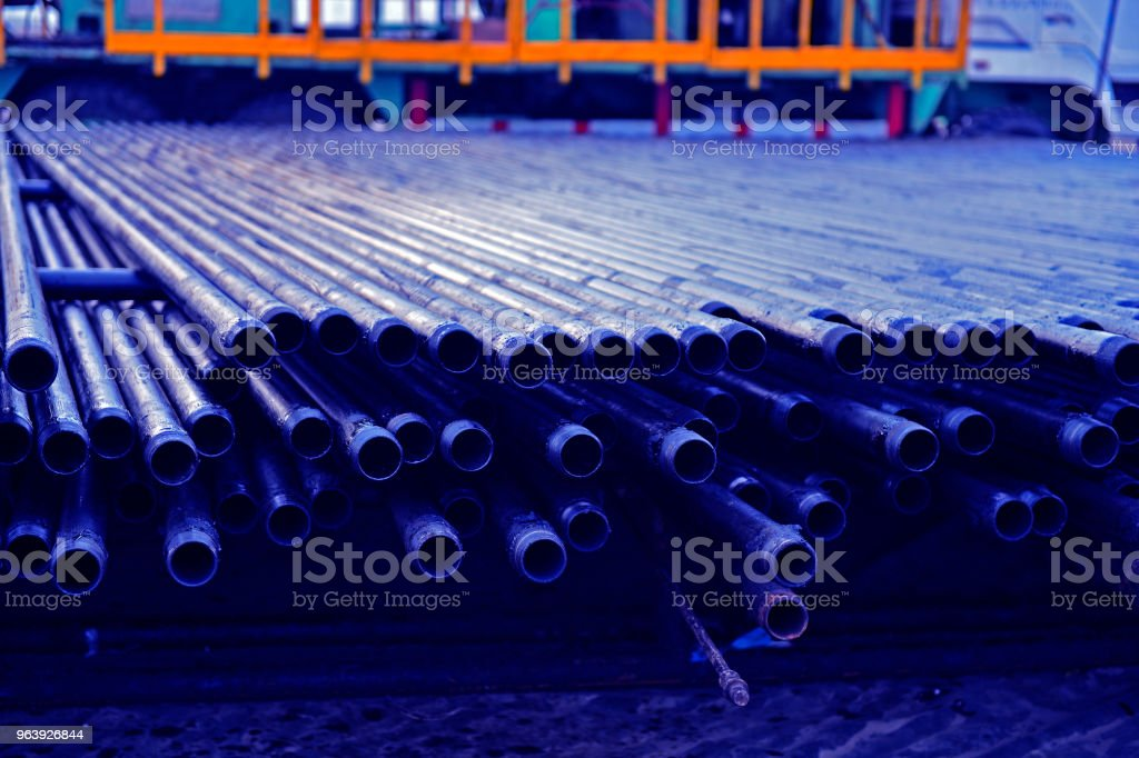 Piping and valves - Royalty-free Chemical Stock Photo