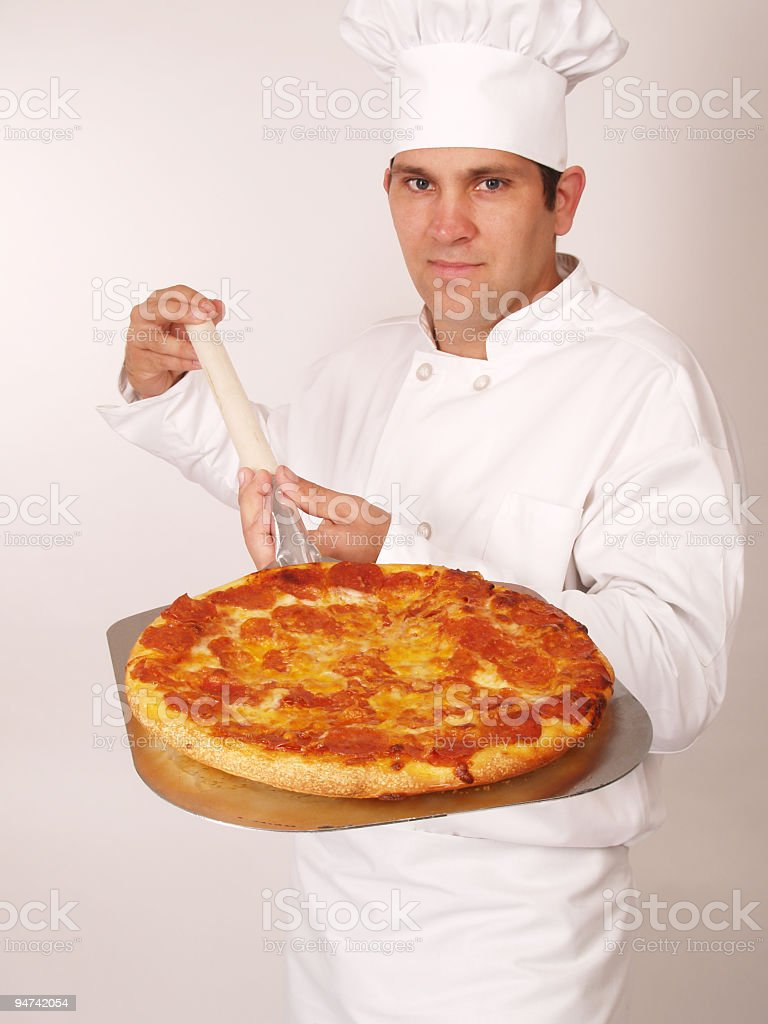 Piping Hot Pizza royalty-free stock photo