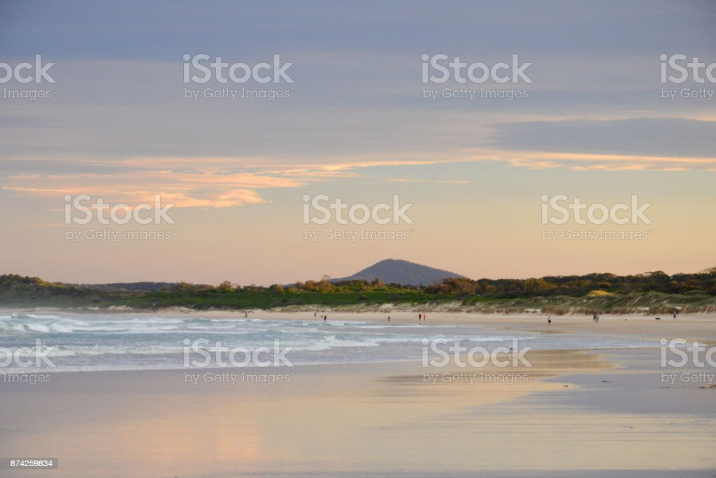 Pippi beach stock photo