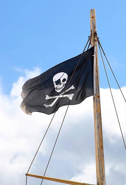 La piratería - foto de stock