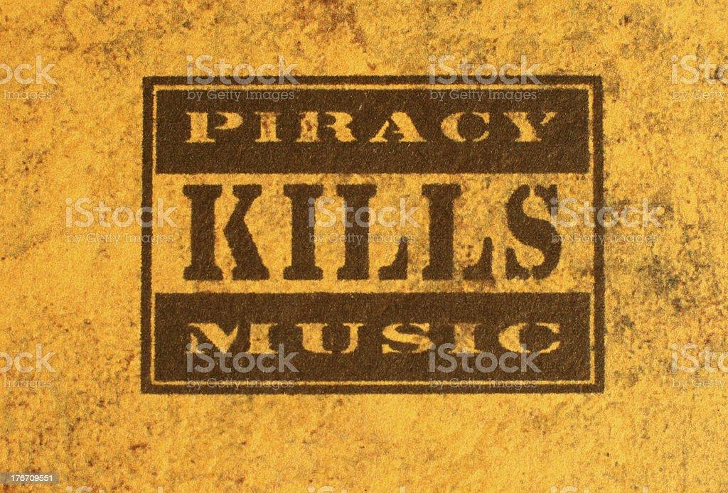 Piracy royalty-free stock photo