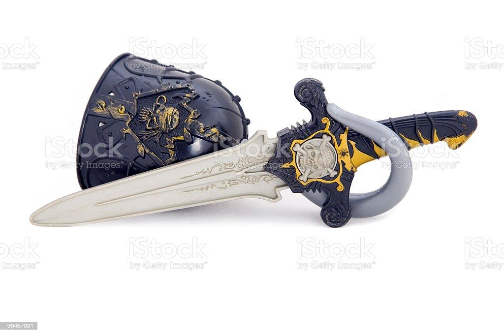 Piracy set royalty-free stock photo