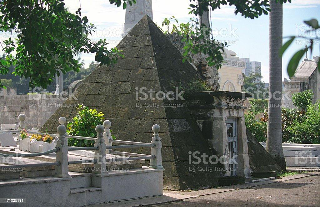 Piramid Tumb, Havana royalty-free stock photo