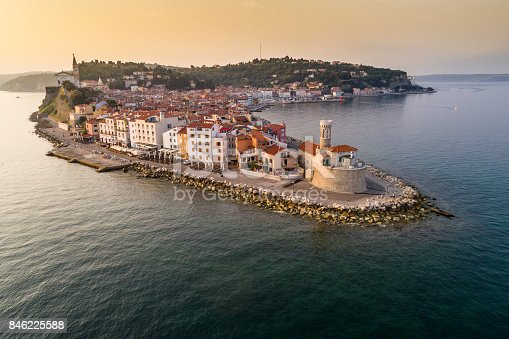 istock Piran on Slovenian adriatic coast in morning sun 846225588