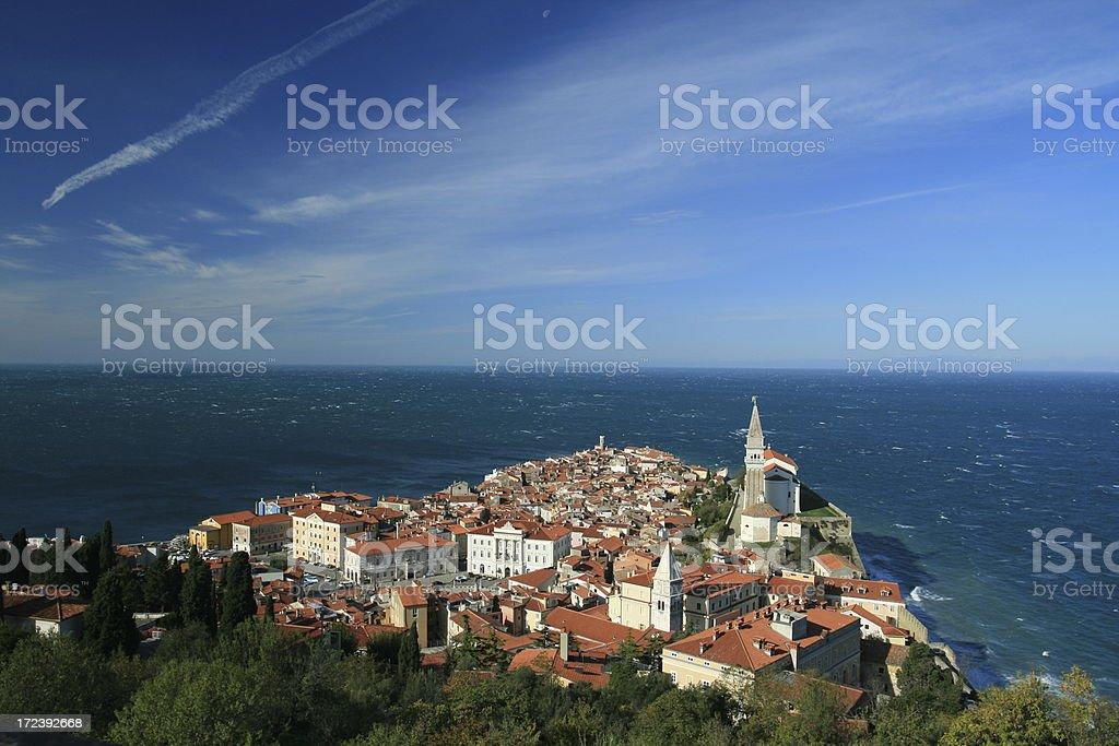 Piran, Slovenia royalty-free stock photo
