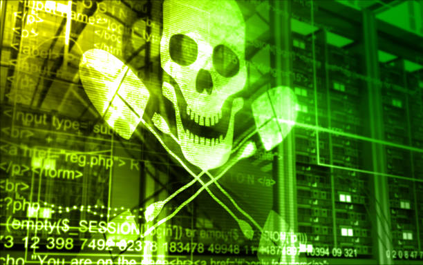 attaque de pirates - logiciel espion photos et images de collection