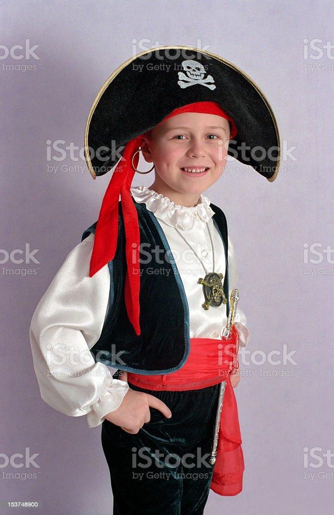 pirate boy stock photo