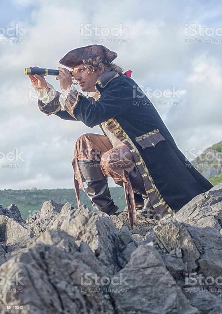royalty free pirates telescope pictures images and stock