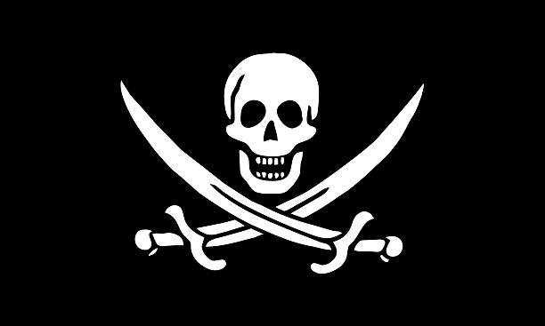 pirate flag pirate flag pirate criminal stock pictures, royalty-free photos & images