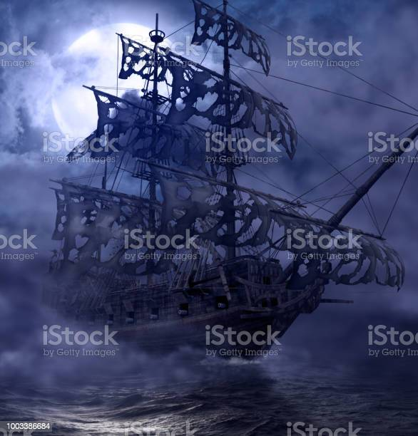 Photo of Pirate Ghost Ship Flying Dutchman