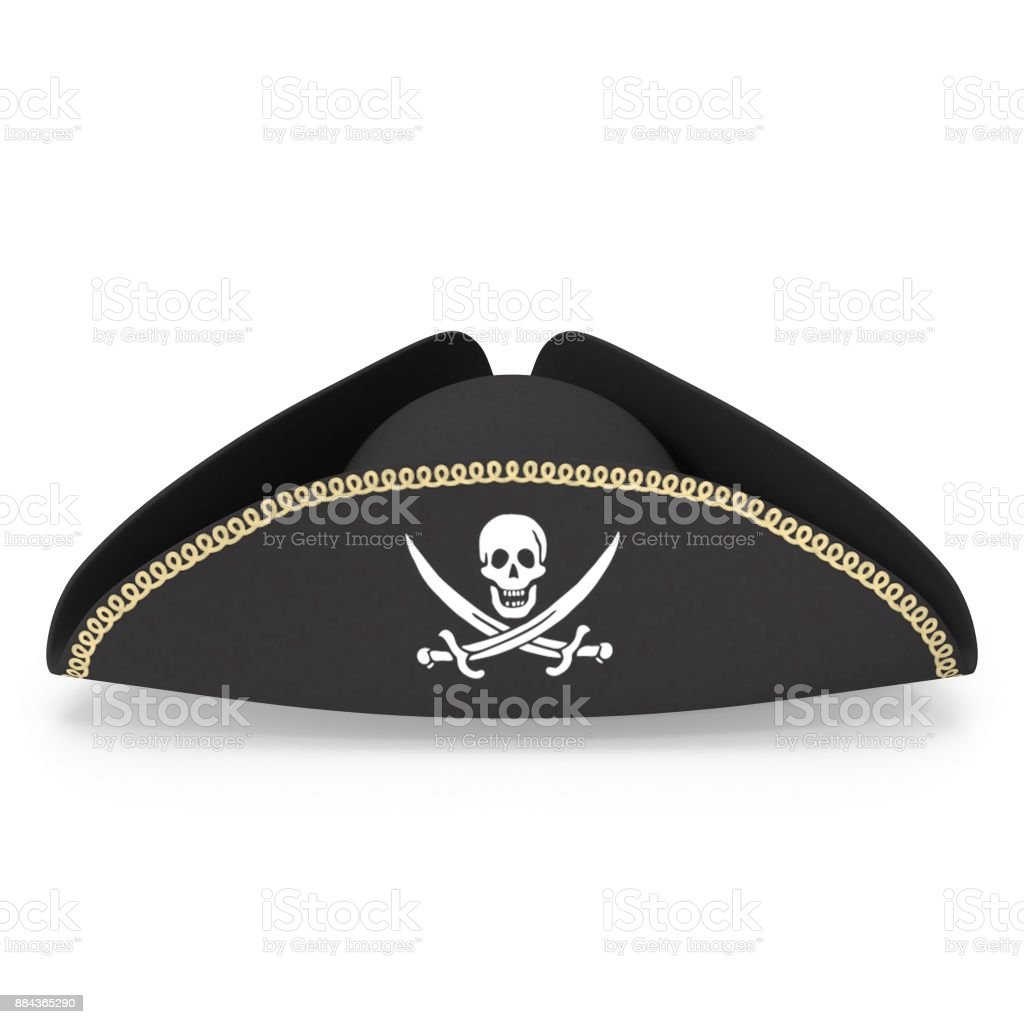 Pirate Hat stock photo