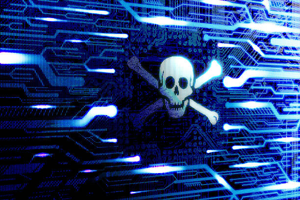 Pirate internet software Pirate internet software concept pirate criminal stock pictures, royalty-free photos & images