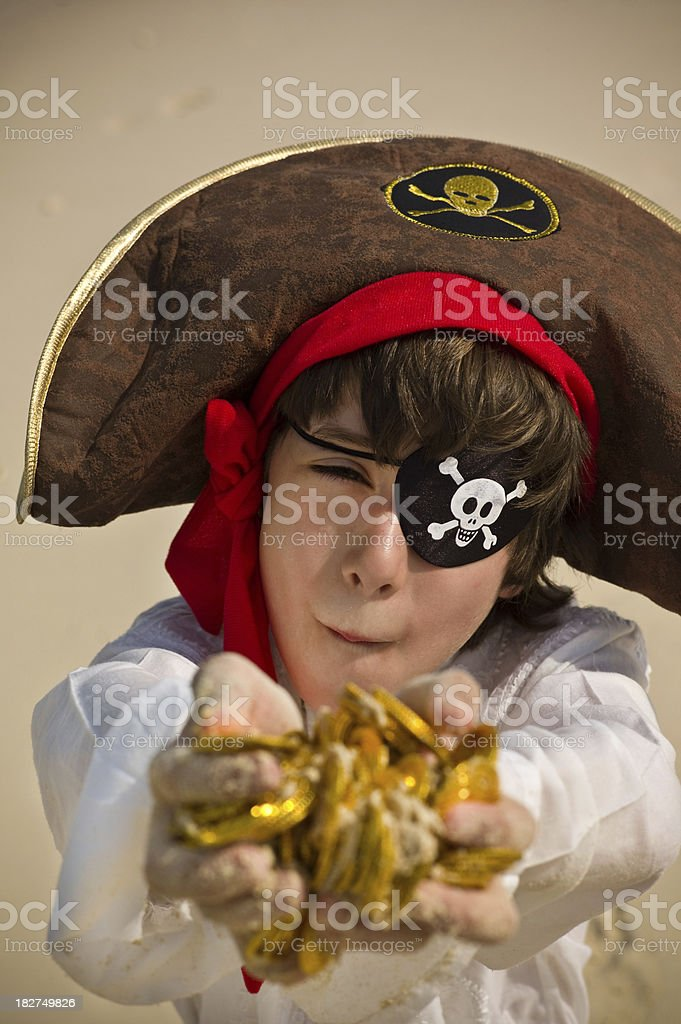 Pirate of the Caribbean royalty-free stock photo