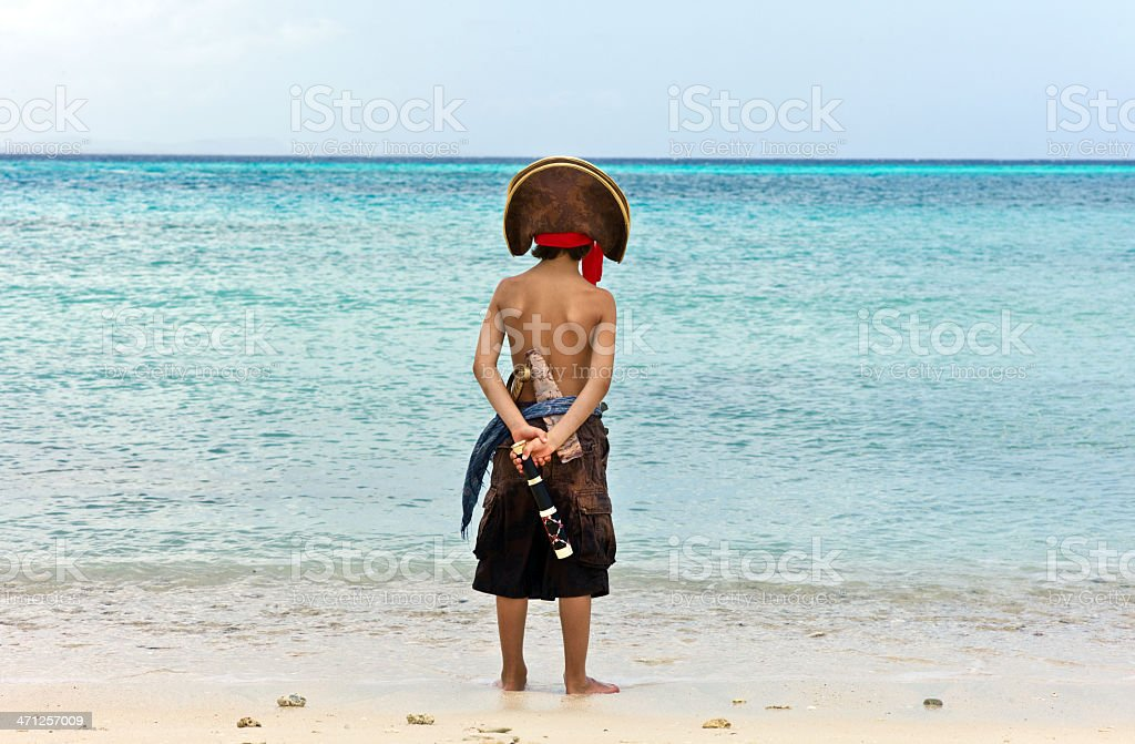 Pirate of the Caribbean stock photo