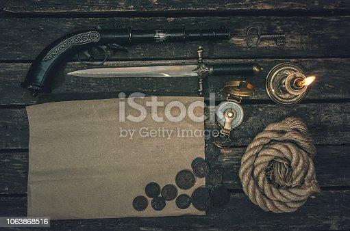 istock Pirate. 1063868516
