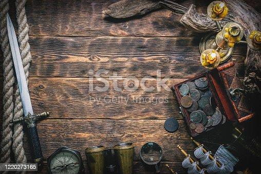 istock Pirate. 1220273165
