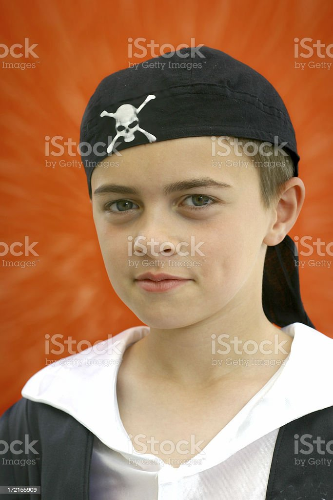 Pirate royalty-free stock photo