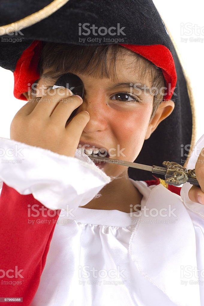 Pirate royalty free stockfoto
