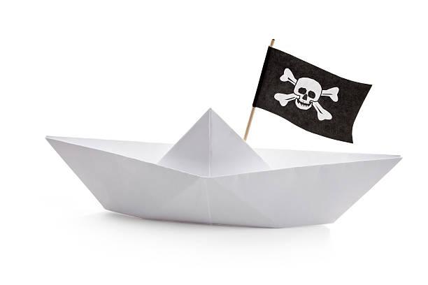 Pirate barco - foto de stock