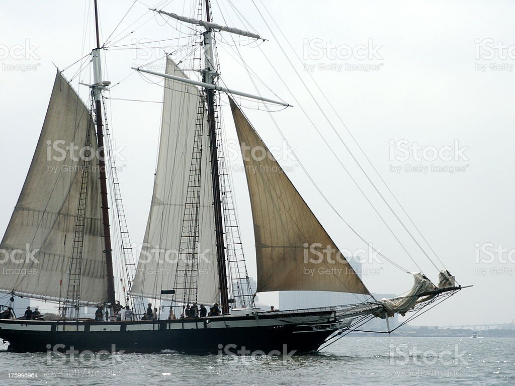 Pirate Ship royalty-free stock photo