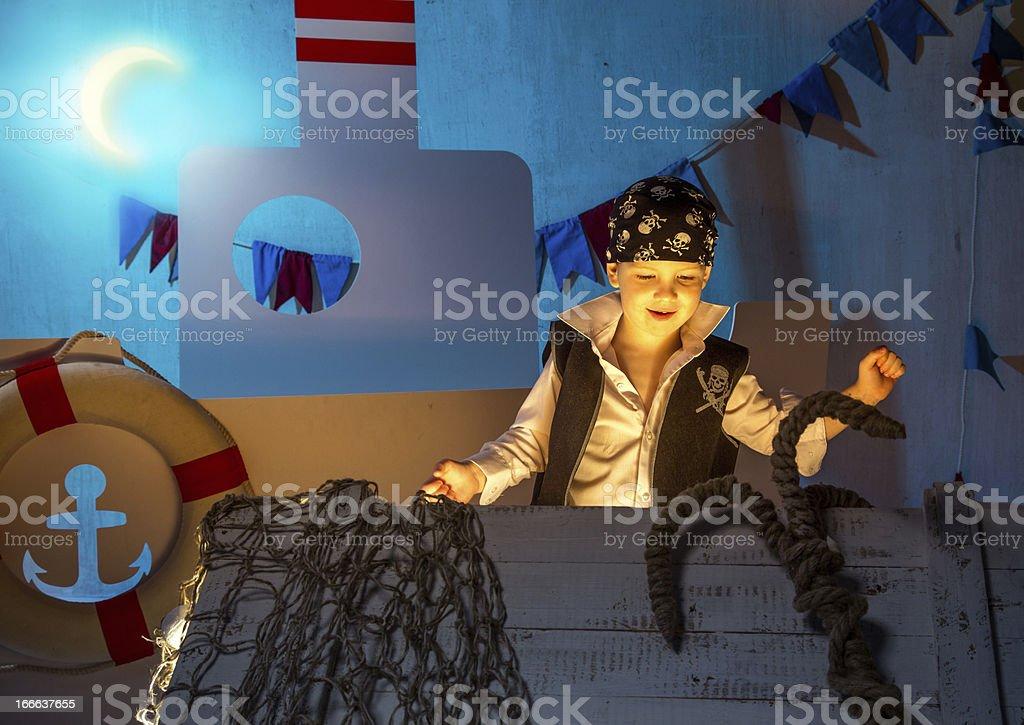 Pirate treasure royalty-free stock photo