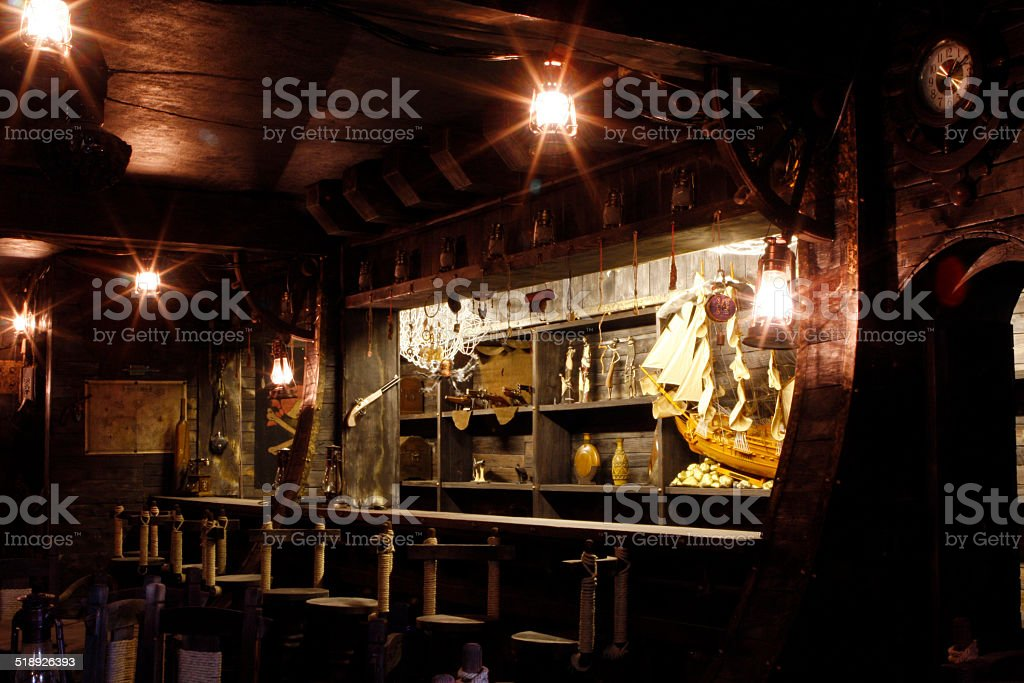 Pirate's Bar stock photo