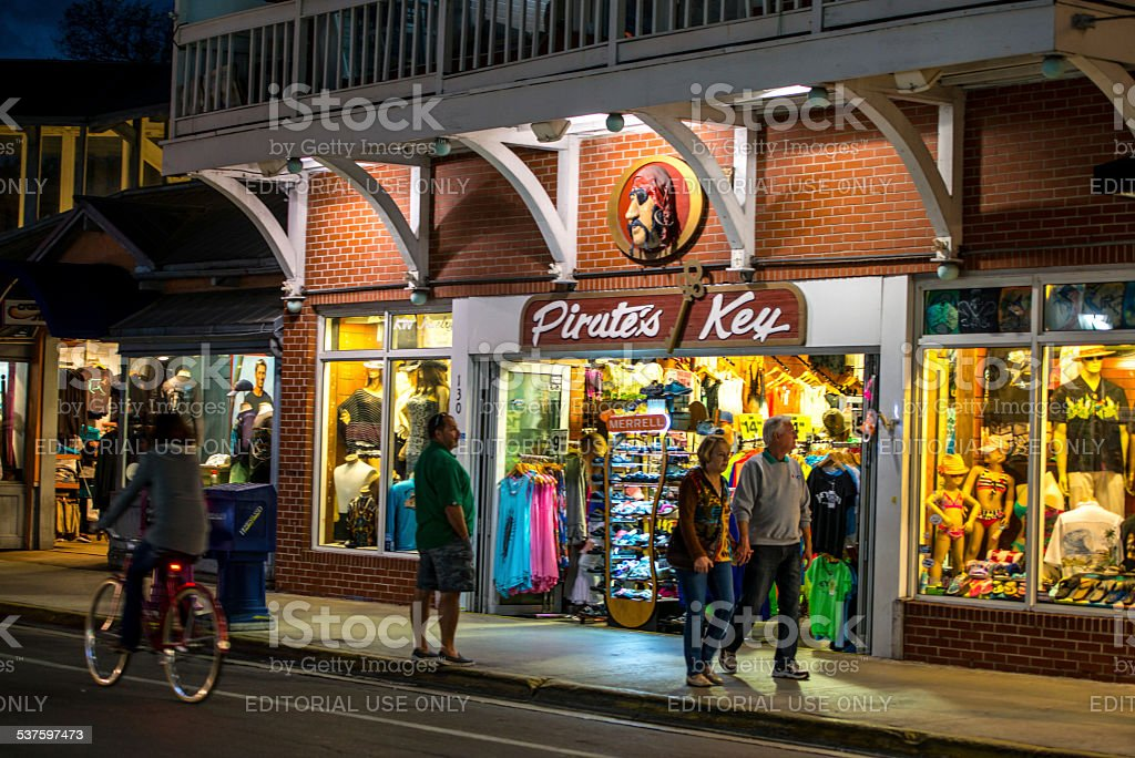 Pirates Key Gift Shop Key West Stock Photo - Download Image Now - iStock