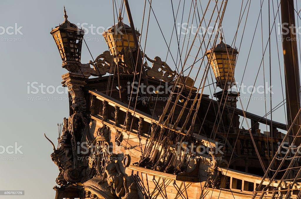 Pirates of the Dawn Treader stock photo