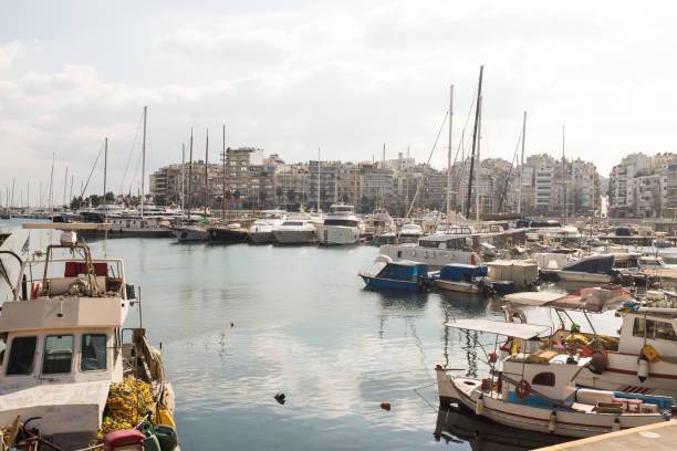 Pireus Marina, Athen, Griechenland. – Foto