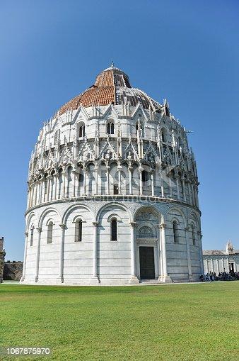 ᐈ Imagen De Baptisterio De Pisa De San Juan En Pisa Italia