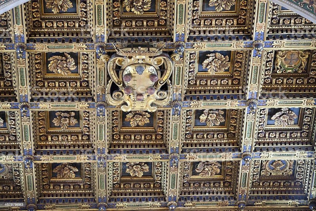 Pisa - Duomo interior. stock photo