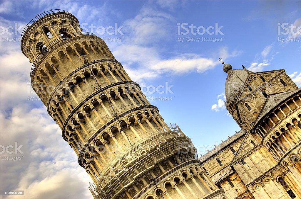 Pisa, Italy at Sunrise royalty-free stock photo