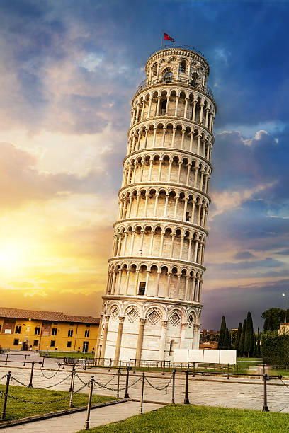 Pisa leaning tower, Italy