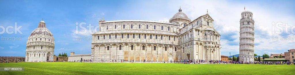 Pisa panorama, Italy. stock photo