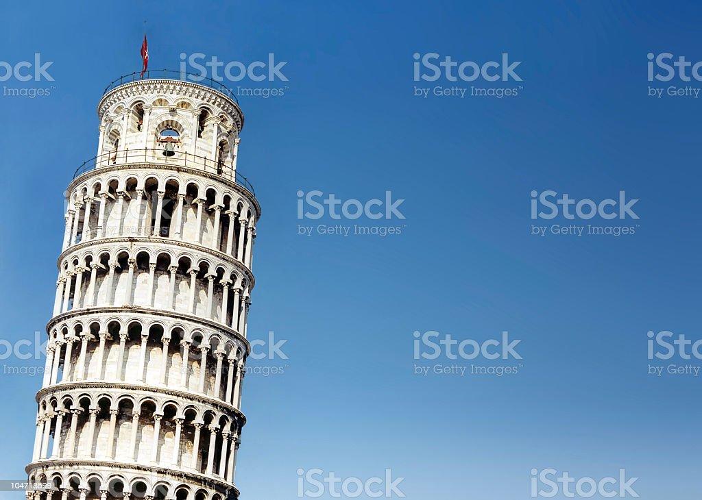 Pisa tower stock photo