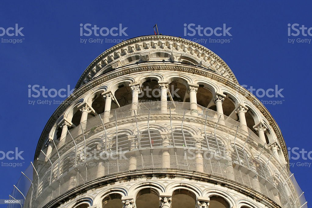 Pisa tower royalty-free stock photo