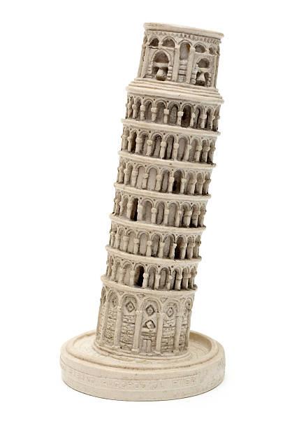 Pisa Tower souvenir stock photo