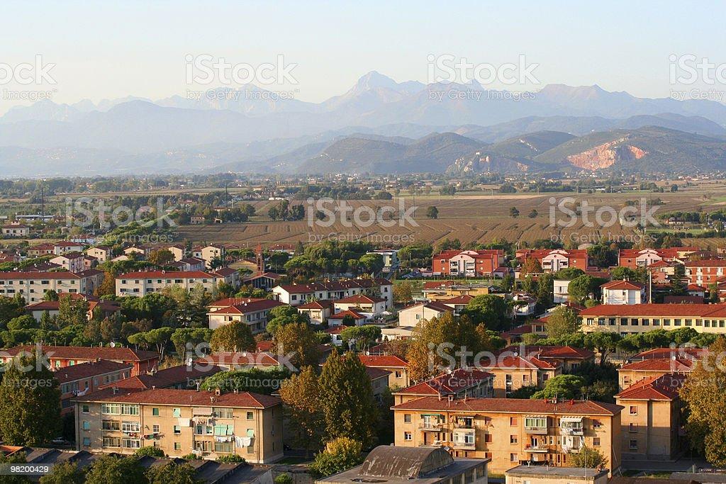Pisa town royalty-free stock photo